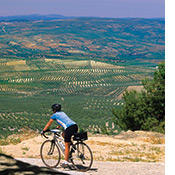 Andalucia biking photo